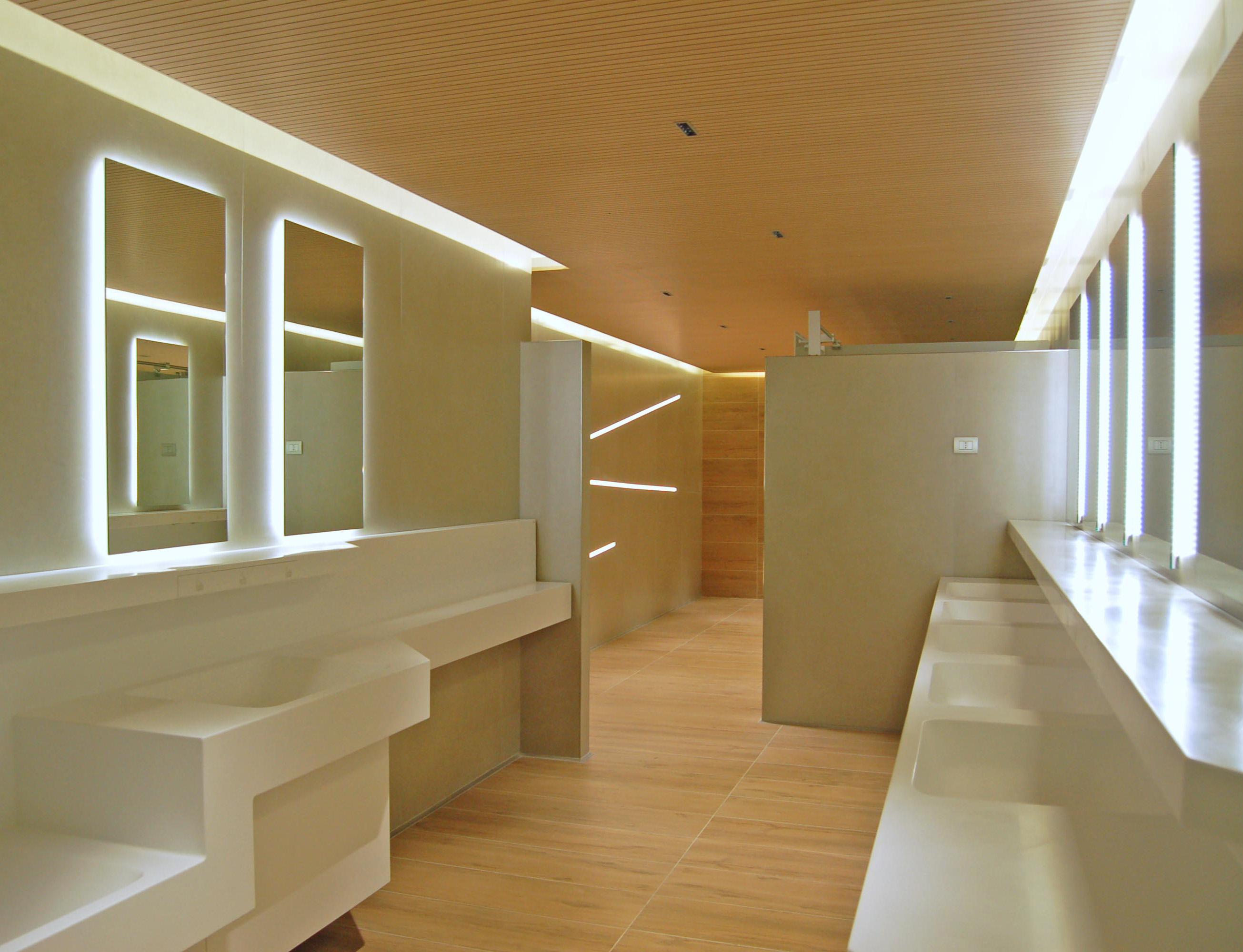 Teuco: nuovi design per i bagni dell'Aeroporto di Fiumicino ...