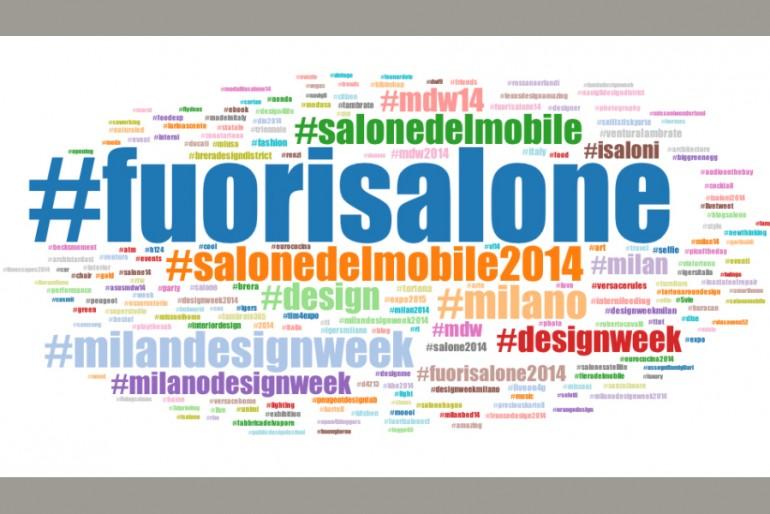 #DesignWeek 2014: i numeri di Twitter