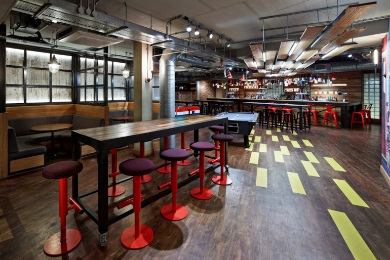 young hostel london: