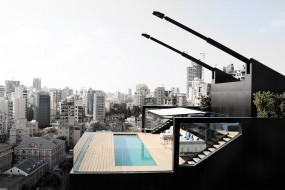 Architettura ultra-moderna: N.B.K. Residence a Beirut