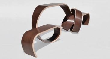 'Why Knot': il tavolo che si arriccia su se stesso…