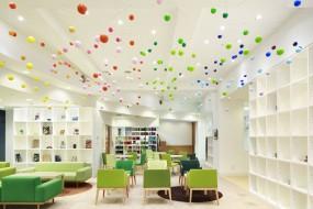 Interior: 'Dancing Bubbles' by Emmanuelle Moureaux