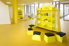 'Il giallo in cucina': interior by Matali Crasset