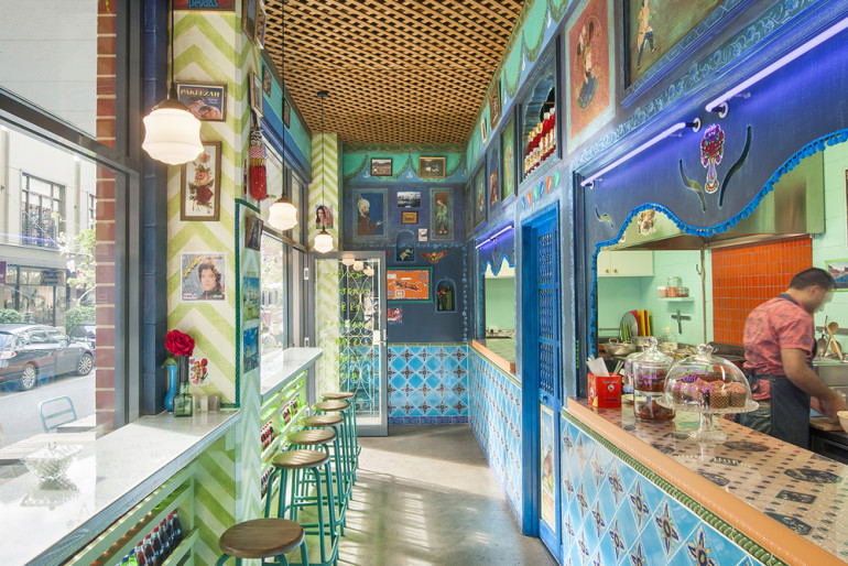 Eclectic vibrant afghan restaurant in adelaide design for Eclectic restaurant