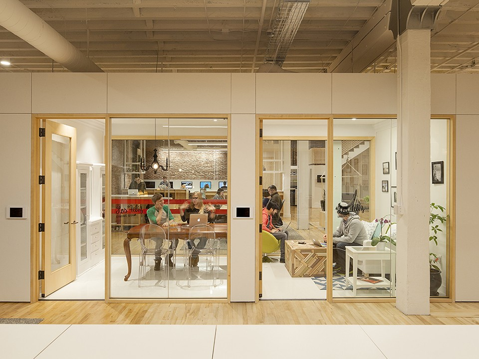 cool dynamic new airbnb portland office airbnb cool office design