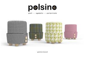 Polsino, il pouf by Alessandro Damin per Formabilio