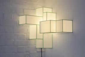 Luce da comporre con questa lampada-scultura