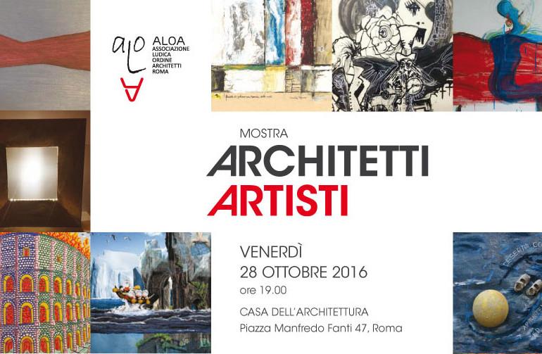 mostra-installazione: Architetti Artisti
