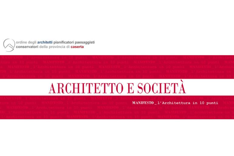 ARCHITETTO E SOCIETÀ: convegno @ Venezia