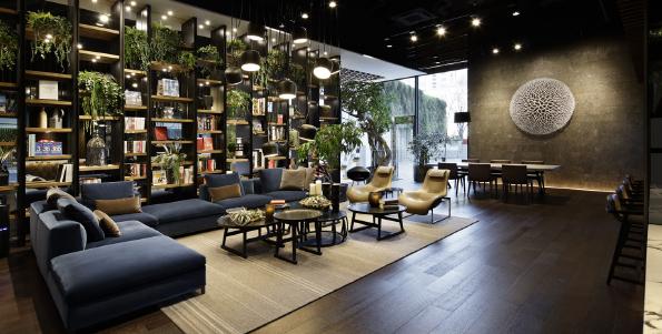 B&B ITALIA new showroom in TOKYO - Design Diffusion