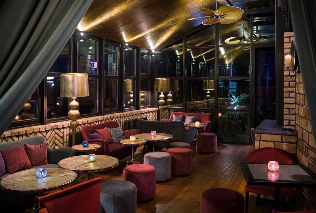 Mur restaurant design diffusion