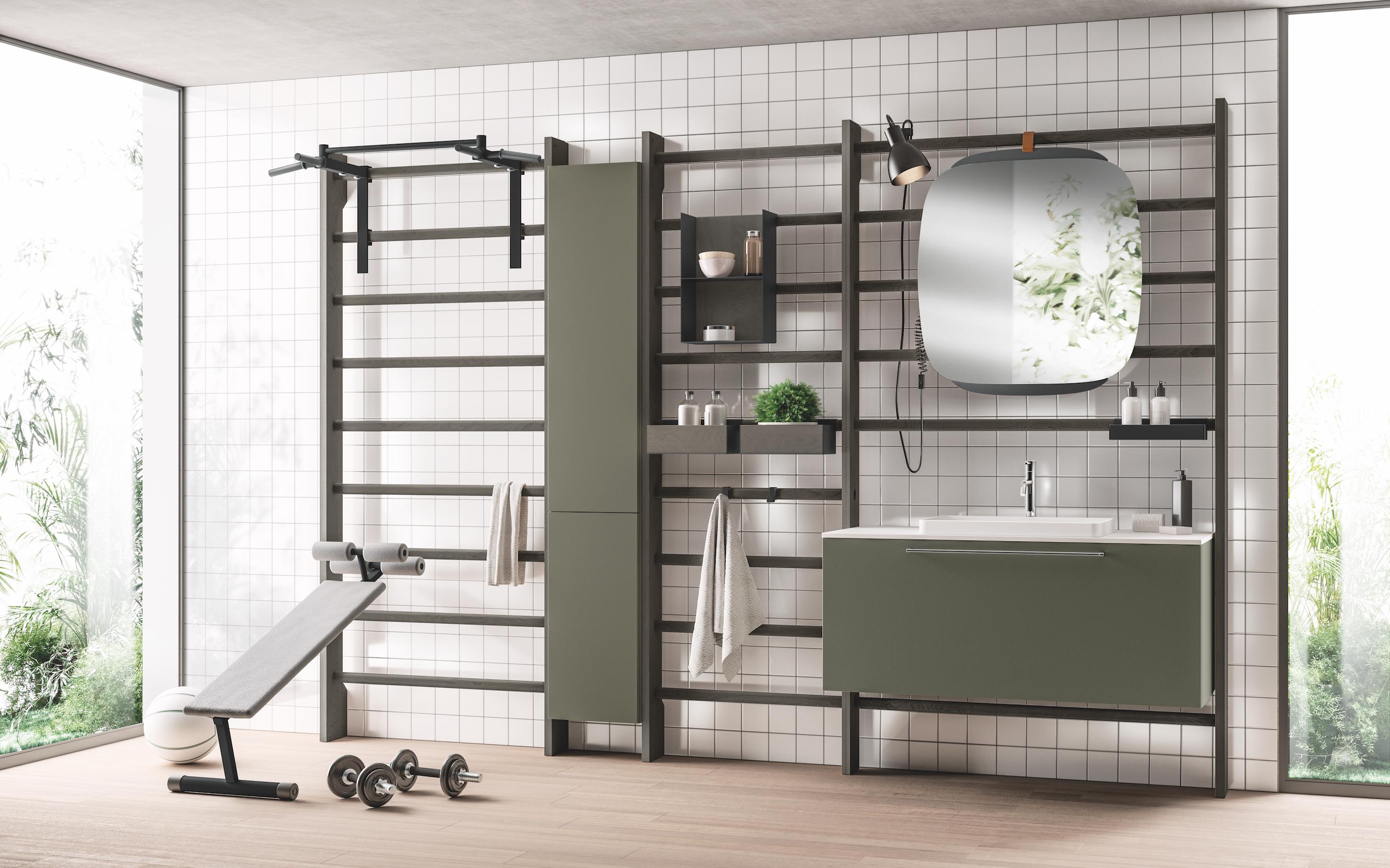 Preview salone 2018 scavolini bagno design diffusion - Scavolini bagno ...