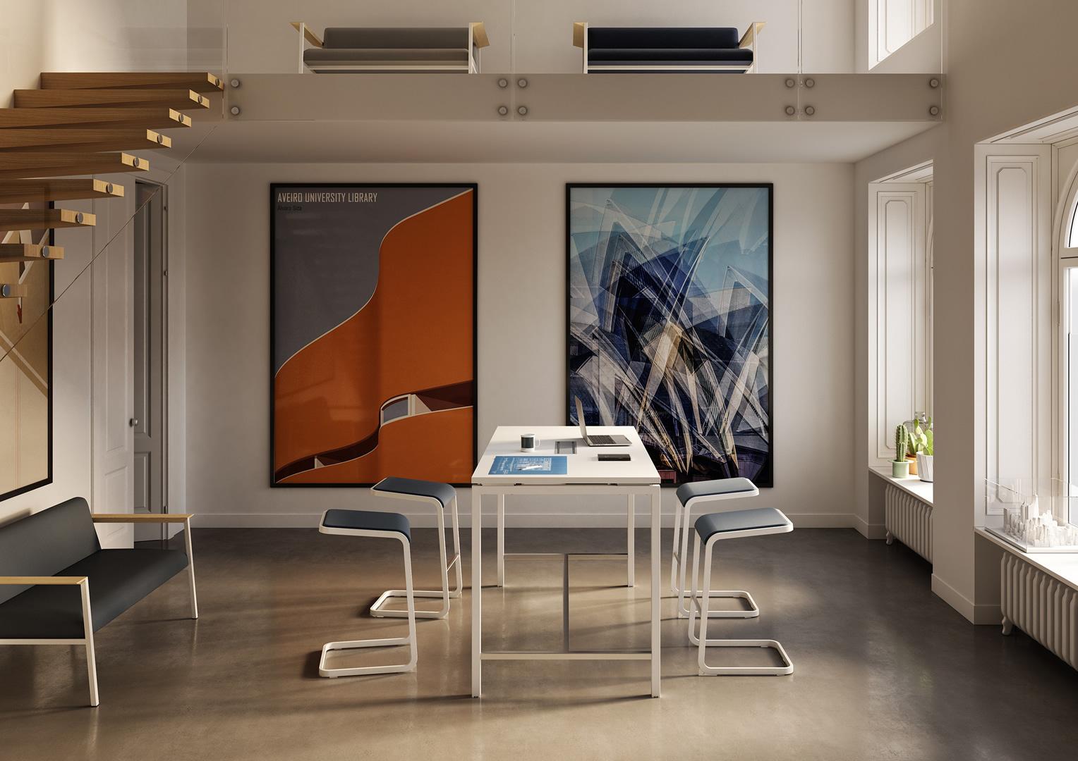 Mobili Per Ufficio Quadrifoglio : C stool: una rivoluzionaria seduta dufficio design diffusion