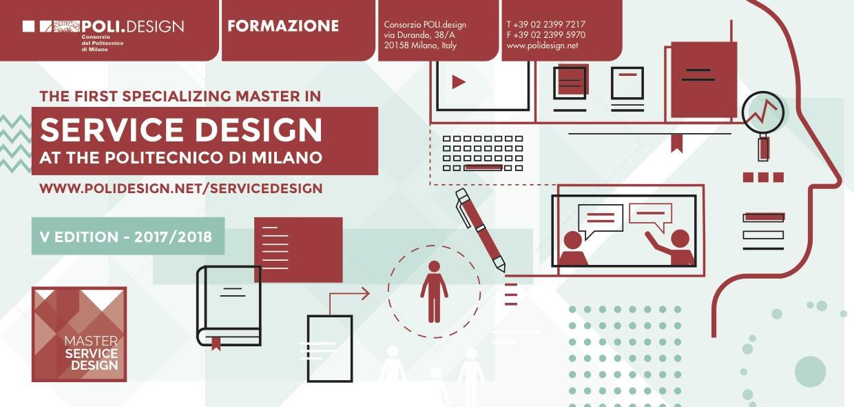 Poli design presenta master in service design for Poli design