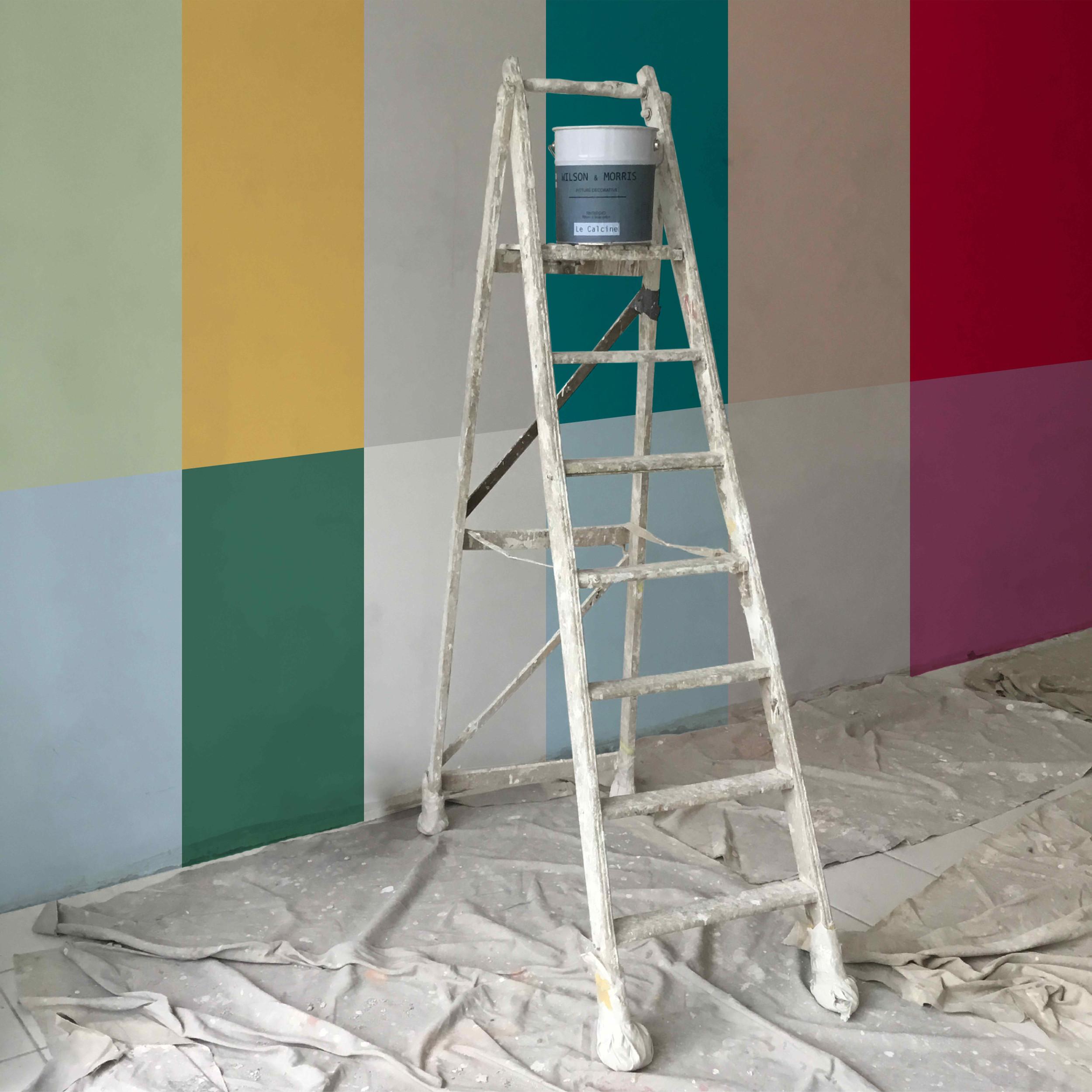 Su una sola parete tanti esempi de le pitture nuove di - Nuovi colori per pareti casa ...