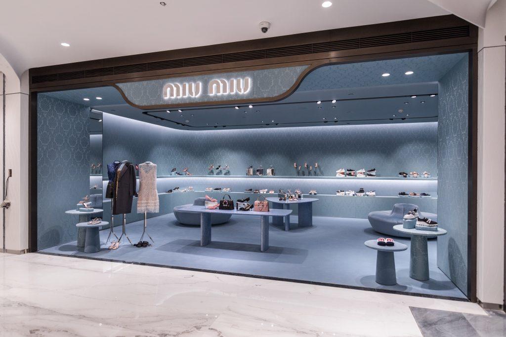 buy popular 81546 fd9e3 Miu Miu del gruppo Prada apre in Cina | Design Diffusion