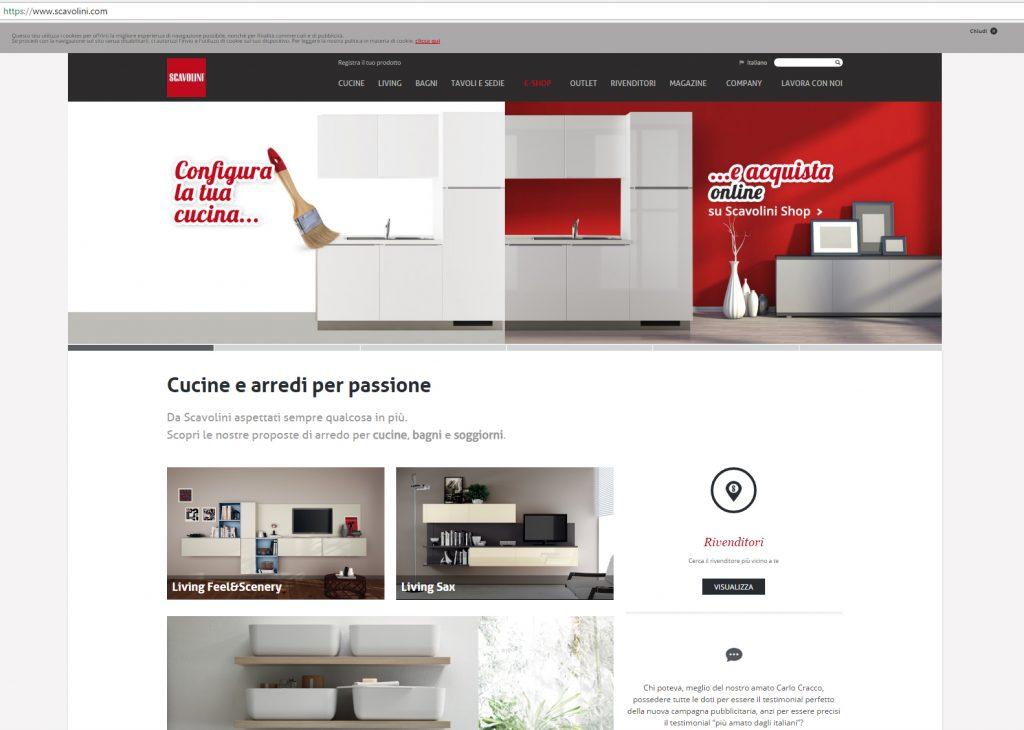 Una cucina Scavolini si compra (anche) online | Design Diffusion