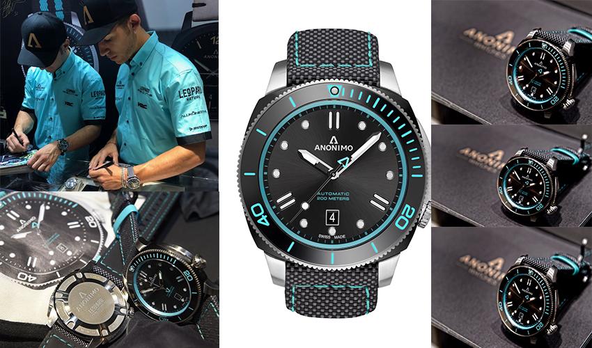 super popolare 549c4 9e6b6 Nautilo Leopard Watch' novità di Anonimo per Moto3 mondiale ...