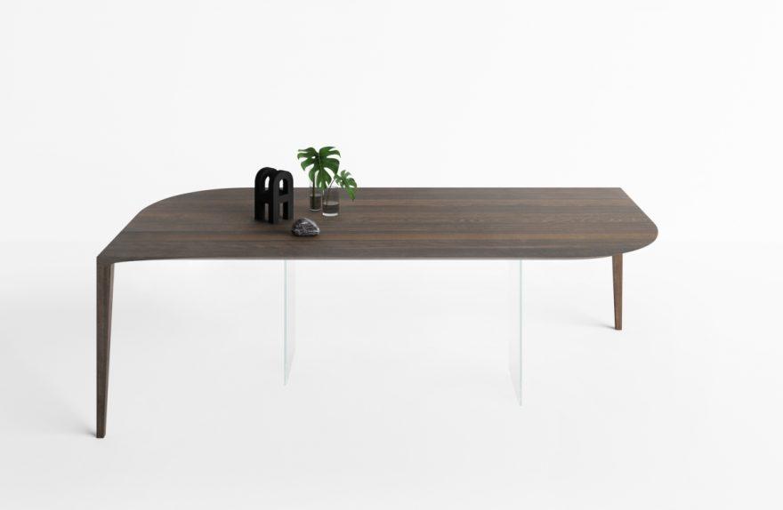 lago salone del mobile 2019 tavolo p j xglass design