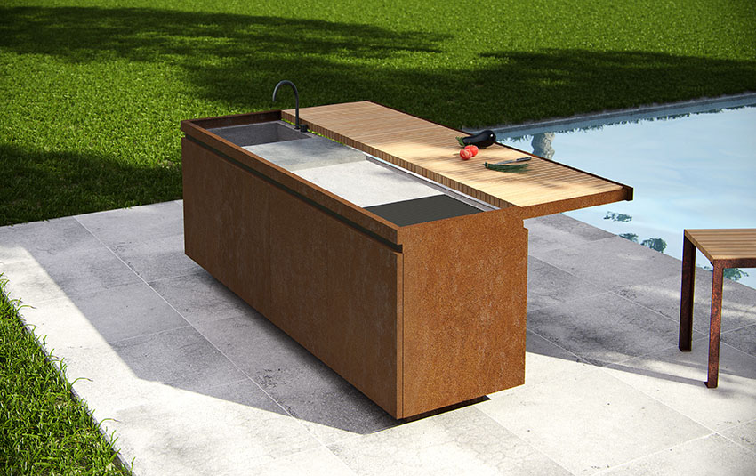 Le cucine outdoor | Vivere all\'aperto | Design Diffusion