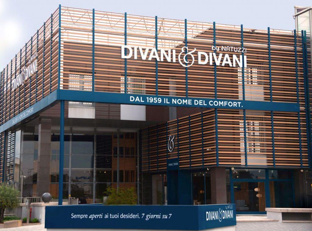 Divani E Design.Divani Divani By Natuzzi Inaugurates Italy S Largest