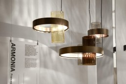 Armonia, pendant lamp designed by Francesco Lucchese for Vistosi