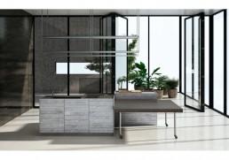 Combine kitchen, by Piero Lissoni for Boffi De Padova
