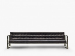 T33 sofa by Franco Albini for Officina della Scala