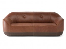 Furrow sofa by Natuzzi Italia, designed by Marcel Wanders