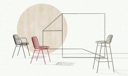 Shade chair by Philippe Nigro for Et al.