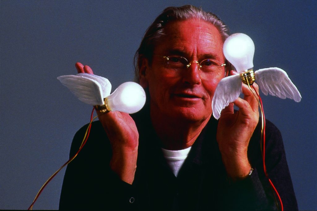 ingo maurer e due lampade Lucellino