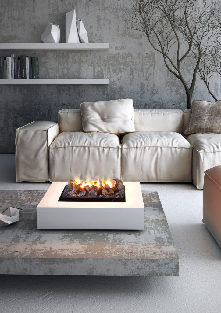 maisonFire Water-Powered Electric Fireplaces
