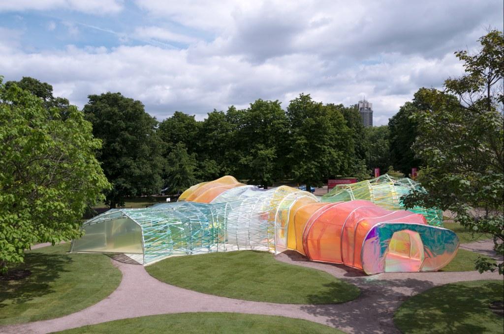 Pavilion 2015, Selgascano. Foto John Offenbach, courtesy Serpentine Gallery