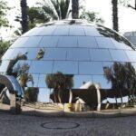 e-gloo-magenta-worksho-MUSA-Tel-Aviv-riscaldamento-globale-iglù