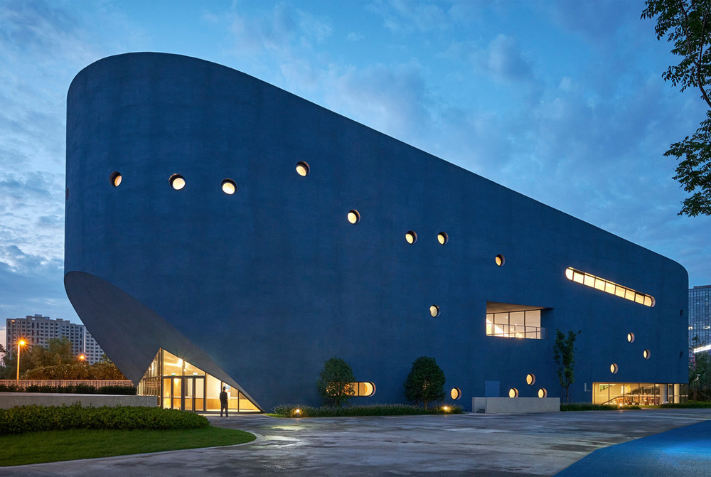 open-architecture-Pinghe-bibliotheater-scuola-internazionale-shanghai-scuola-di-design