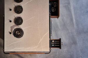 Canossa, outdoor kitchens by Scic Italia
