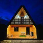 La prima casa modulare in legno A-FOLD in Francia: un design autentico